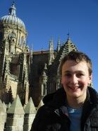 Vista de la torre de la catedral de Salamanca